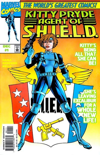 Kitty Pryde – Agent of Shield #1 – 3 (1997-1998)