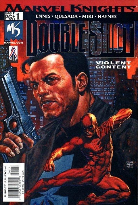 Marvel Knights Double Shot #1 – 4 (2002)