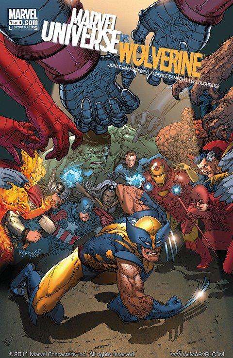 Marvel Universe vs. Wolverine #1 – 4