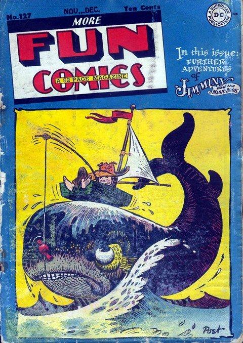 New Fun + More Fun Comics #1 – 127 (1935-1947)