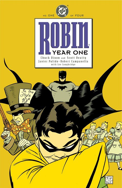 Robin – Year One #1 – 4