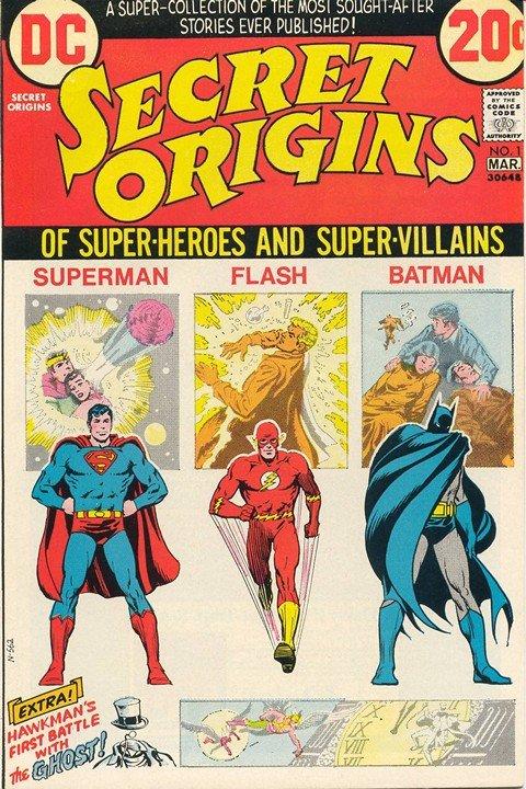 Secret Origins Vol. 1 #1 – 7