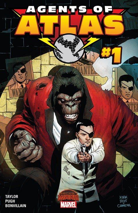 Secret Wars Agents Of Atlas #1