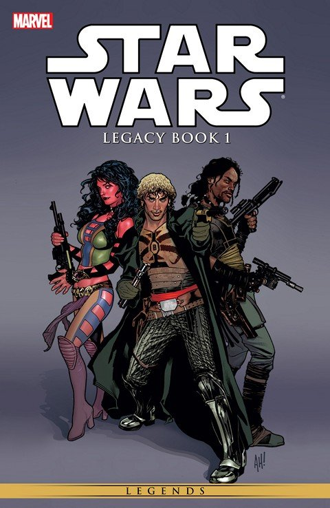 Star Wars – Legacy Vol. 1 – 3