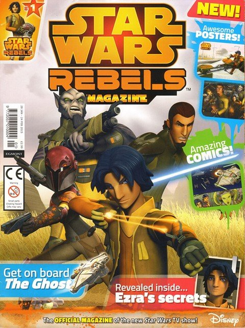 Star Wars Rebels Magazine UK #1 – 8