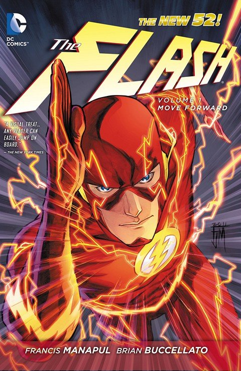 The Flash Vol 4 (New 52) TPB Vol. 1 – 9 (2012-2015)