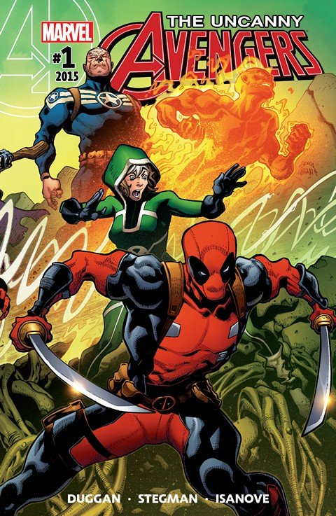 Uncanny Avengers Vol. 3 #1 – 30 (2015-2018)