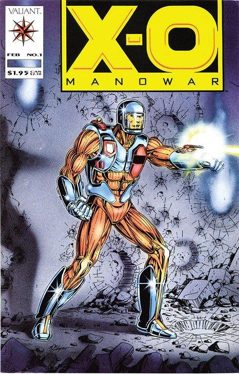 X-O Manowar Vol. 1 – 3 + TPB + Extras