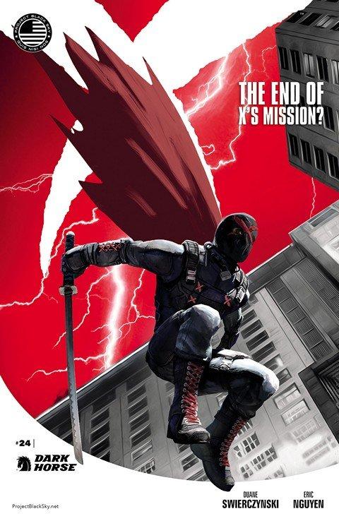 X Vol. 2 #0 – 24 (2013-2015) (Dark Horse)