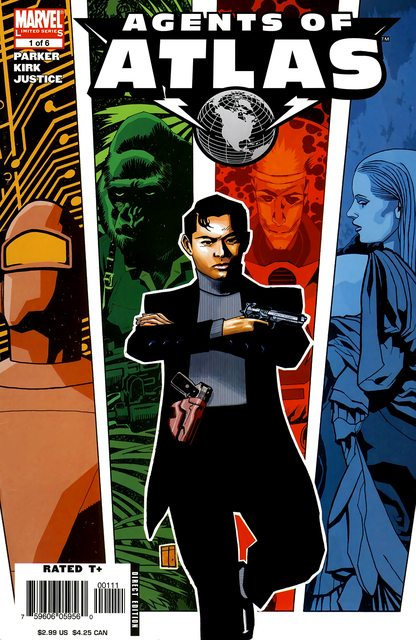 Agents of Atlas (Collection) (2006-2010)