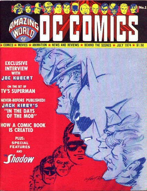 Amazing World of DC Comics #1 – 17 + Con Special