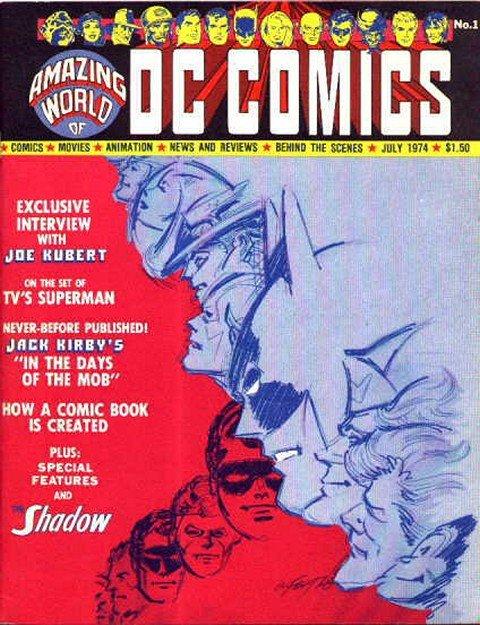 Amazing World of DC Comics #1 – 17 + Con Special (1974-1978)