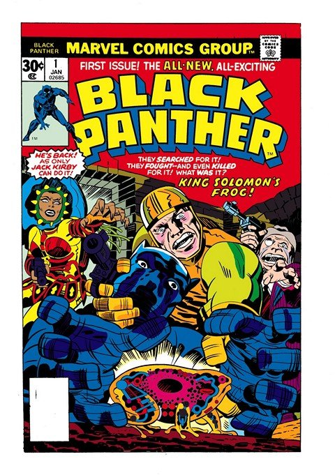 Black Panther Vol. 1 – 6 + TPBs + Extras (Collection) (1966-2017)