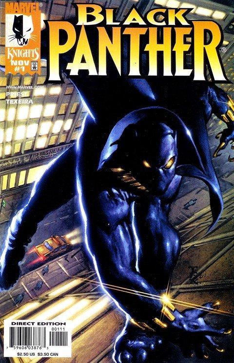 Black Panther Vol. 3 #1 – 62