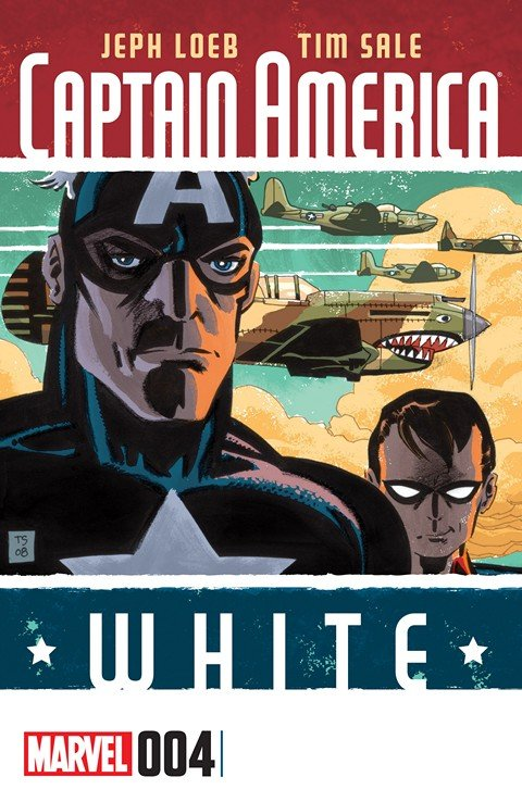 Captain America – White #4