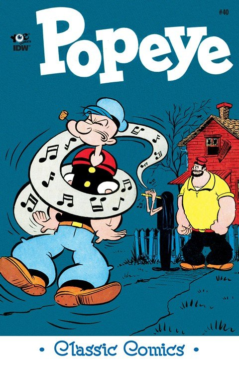 Classic Popeye #40