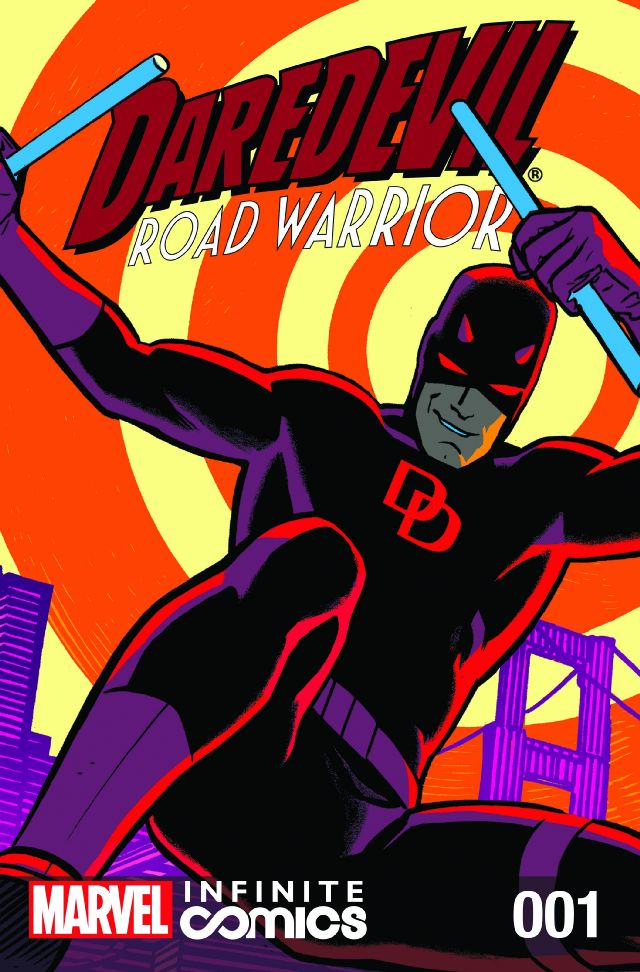 Daredevil – Road Warrior Infinite Comic #1 – 4