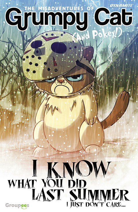 Grumpy Cat – I Know What You Did Last Summer, I Just Don't Care #1
