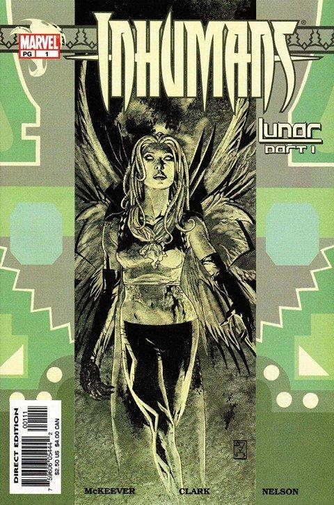 Inhumans Vol. 1 – 4 + Extras (1975-2010)