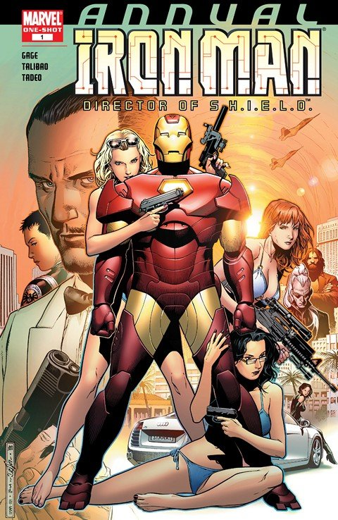 Iron Man – Director of S.H.I.E.L.D. Annual #1