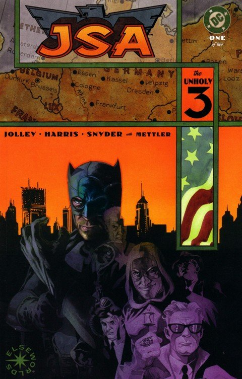 JSA – The Liberty Files #1-2 + JSA – The Unholy Three #1-2