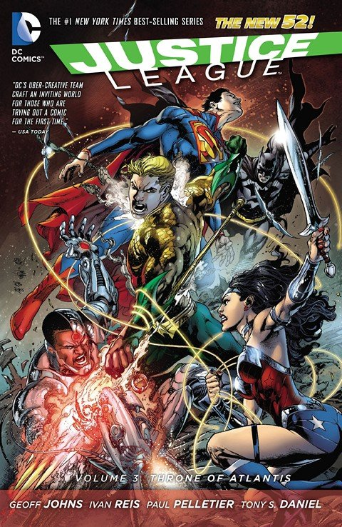 Justice League Vol. 1 – 3 (New 52 TPB) (2012-2013)