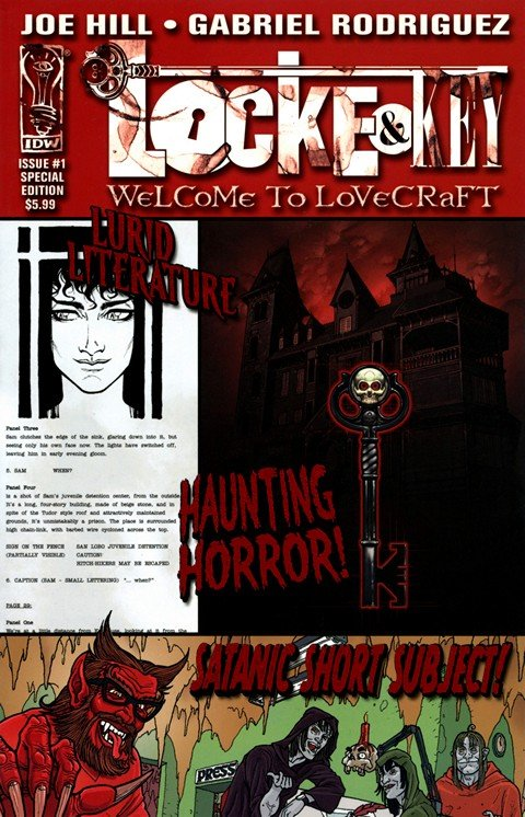 Locke & Key – Welcome to Lovecraft #1 (Special Edition)