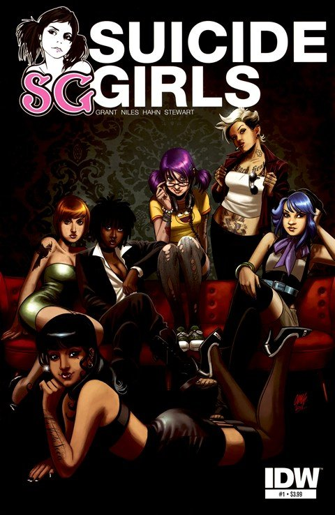 Suicide Girls #1 – 4