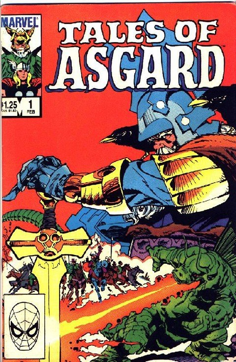 Tales of Asgard Vol. 1 – 2