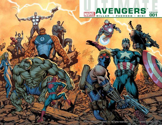 Ultimate Avengers Vol. 1 – 3 + vs. New Ultimates (2009-2011)