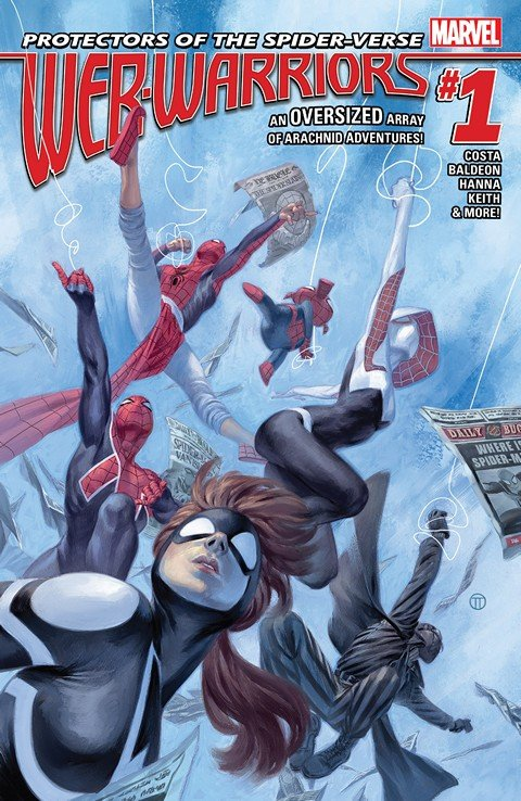 Web Warriors #1 – 11 + TPBs (2016)
