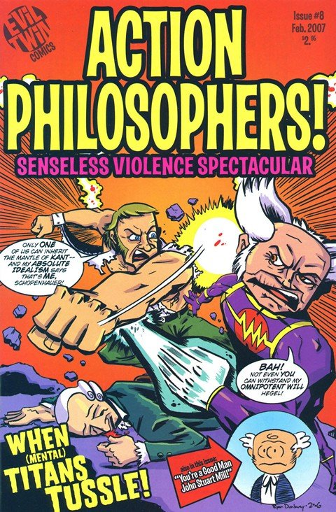 Action Philosophers #1 – 9