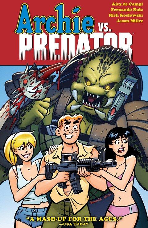 Archie vs. Predator (TPB) (2015)