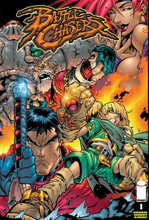 Battle Chasers #1 – 9 + Anthology HC