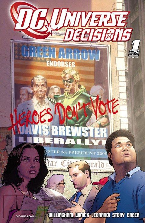 DC Universe- Decisions #1 – 4