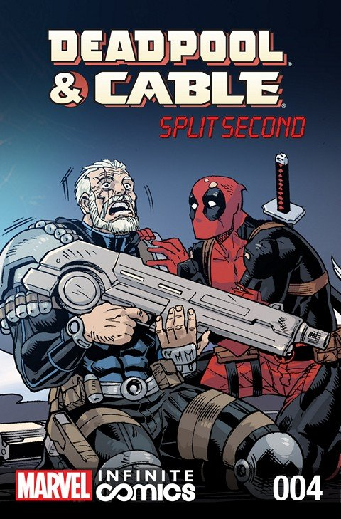 Deadpool & Cable – Split Second Infinite Comic #4