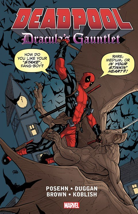 Deadpool – Dracula's Gauntlet