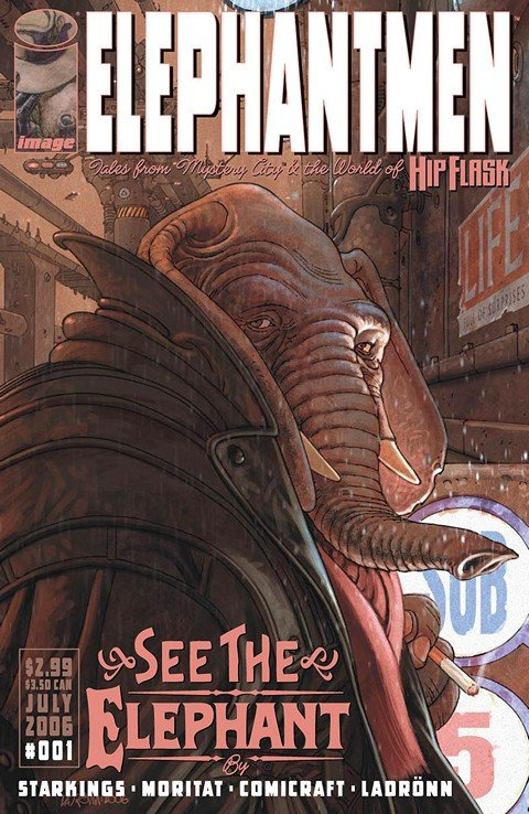 Elephantmen #1 – 67 + Extras