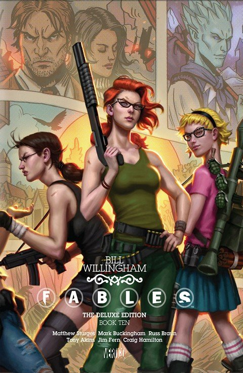 Fables – The Deluxe Edition – Book Ten