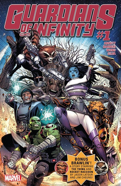 Guardians of Infinity #1 – 8 + TPBs (2016)