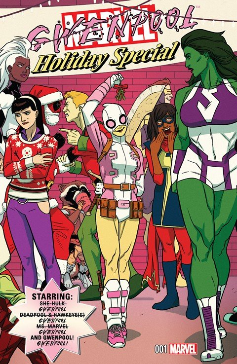 Gwenpool Holiday Special #1
