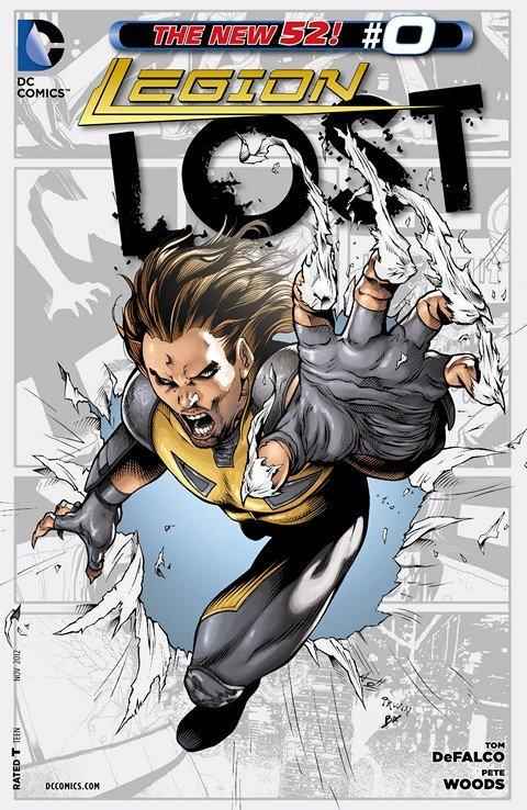 Legion Lost #0 – 16 + TPB Vol. 1 – 2 (2012-2013)
