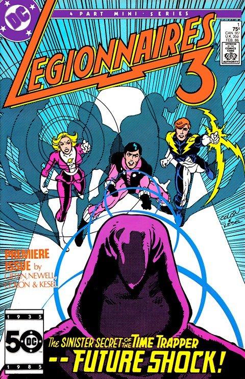 Legionnaires 3 #1 – 4 (1986)