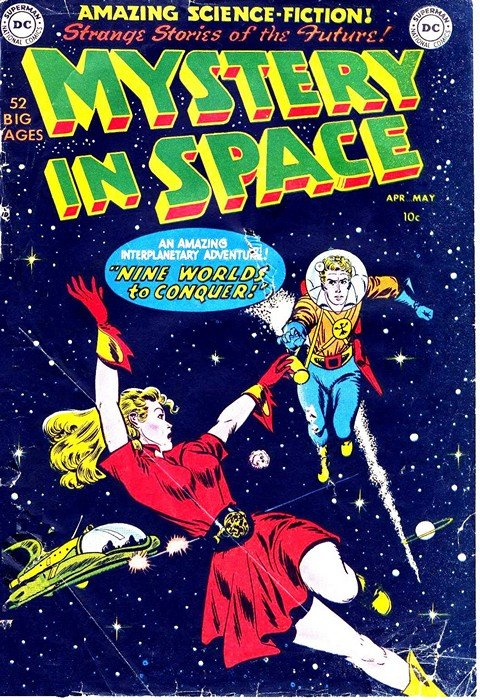 Mystery in Space Vol. 1 #1 – 117 + Vol. 2 #1 – 8 (1951-2007)