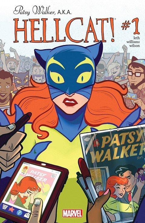 Patsy Walker – A.K.A. Hellcat! #1 – 17 + TPBs (2015-2017)