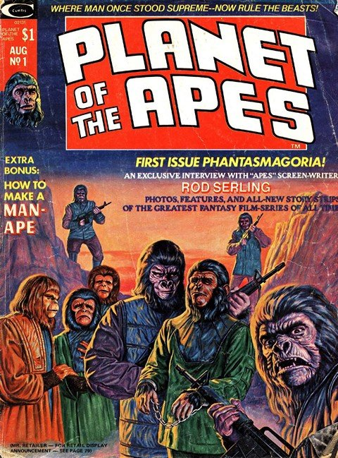 Planet of the Apes Magazine #1 – 29