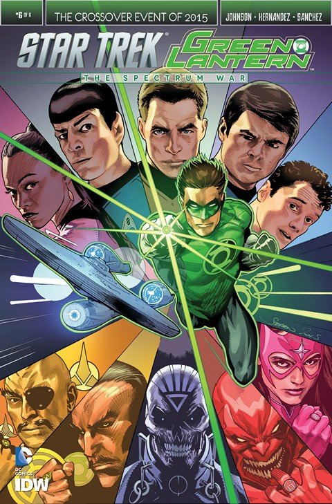 Star Trek Green Lantern The Spectrum Wars #1 – 6