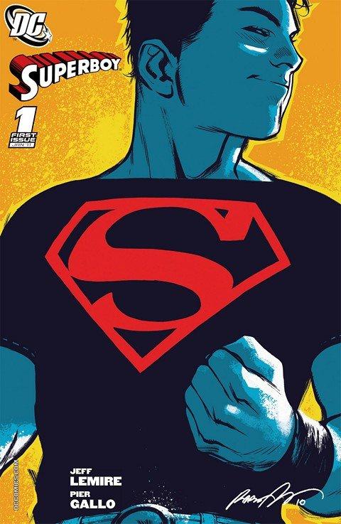 Superboy Vol. 4 #1 – 11 (2010-2011)