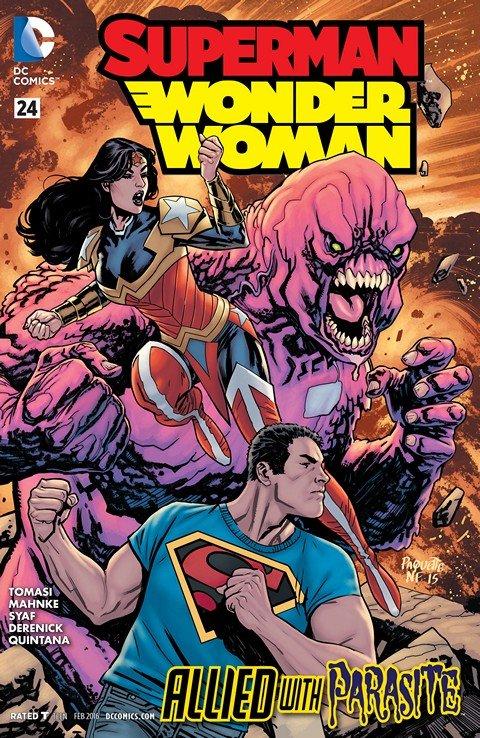 Superman-Wonder Woman #24
