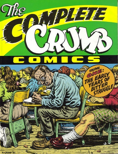 The Complete Crumb Comics – Volume 1 – 8